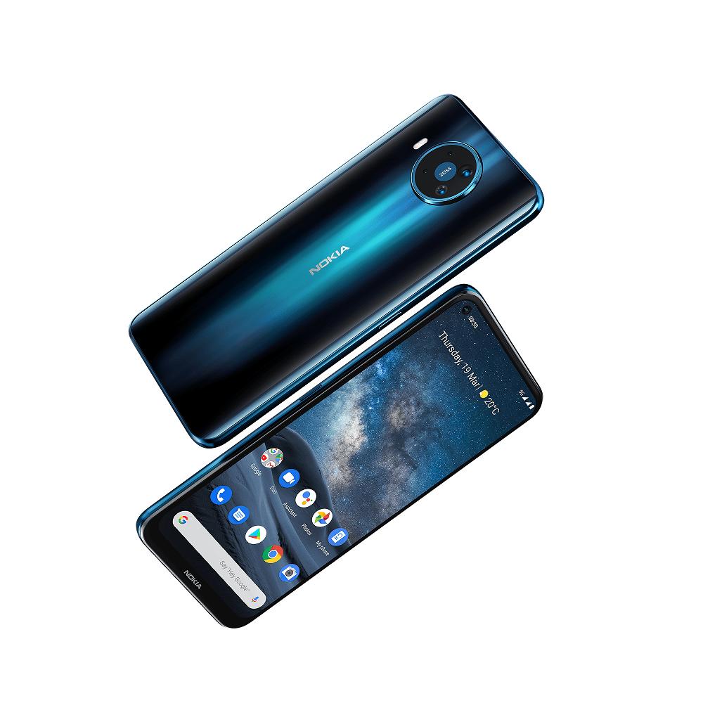 Nokia 5.3 in colorazione cyan