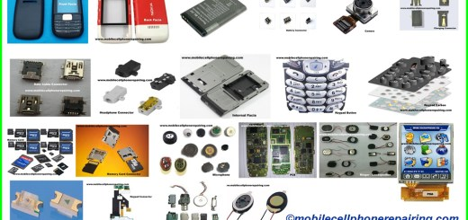 Card Level Parts of a Mobile Cell Phone