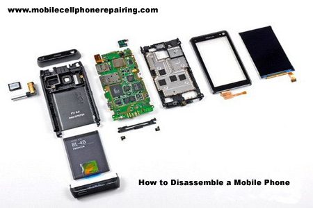 How To Disassemble a Mobile Phone