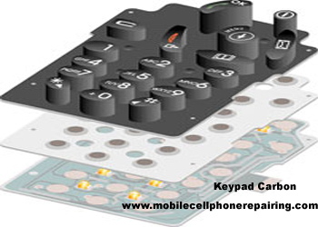 Mobile Phone Keypad Carbon