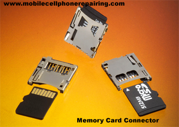Mobile Phone Memory Card Connector