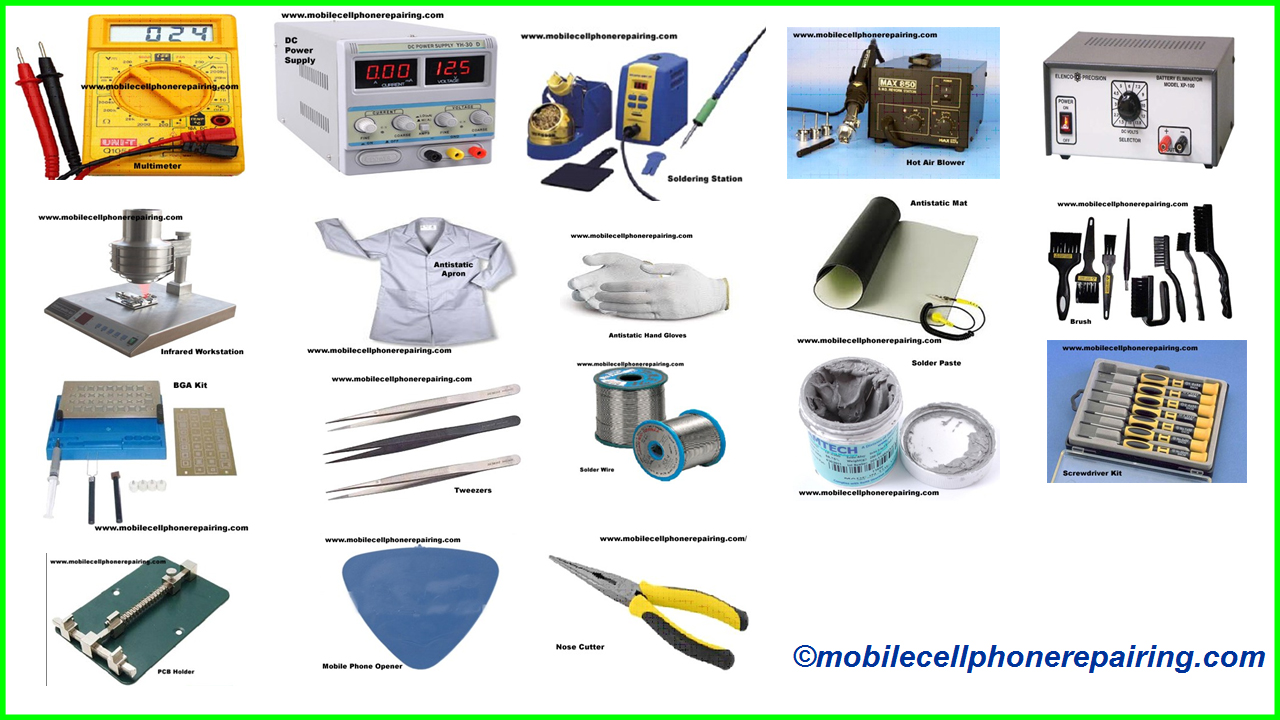 6b810193d60232 Mobile Phone Repairing Tools & Equipment | Tools to Repair Mobile Cell Phone