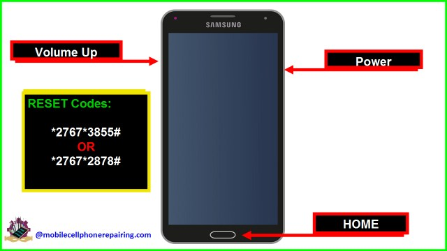 How to Reset Samsung Mobile Phone  Factory Reset Code Galaxy S