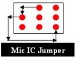 Mobile Phone Microphone IC Jumper