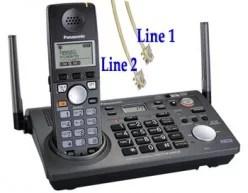 2-Line Cordless Phone