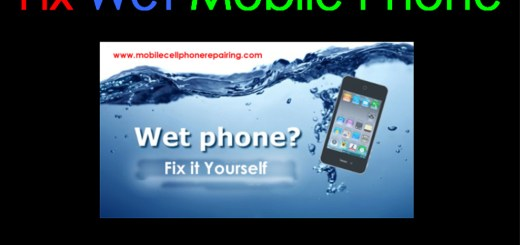Fix Wet Mobile Phone