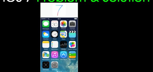 iOS / iOS 7 Not Responding – Problem and Solution
