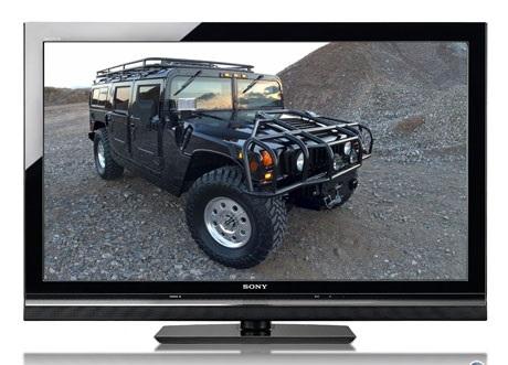 LCD TV Sony KDL 46 W 5500 Front