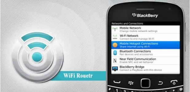Make BlackBerry As Wifi Router