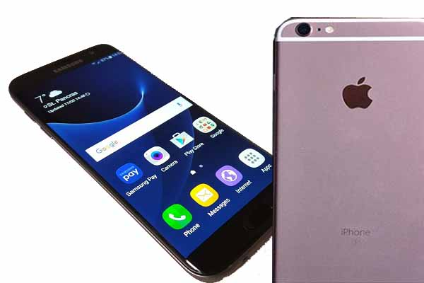 Samsung Galaxy S7 Edge vs. iPhone 6S Plus