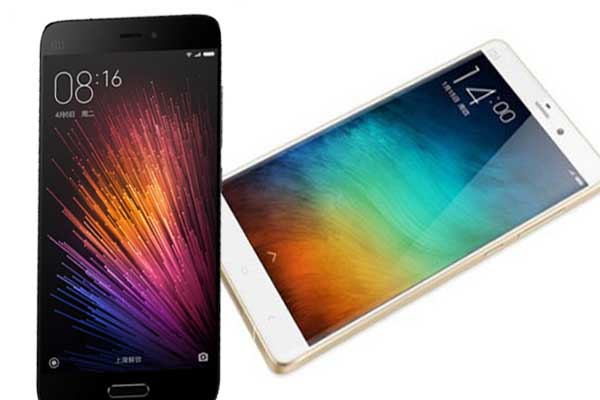 Xiaomi to Bring Mi Note 2 and Mi 5S