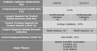 Pediatric Catheters Market