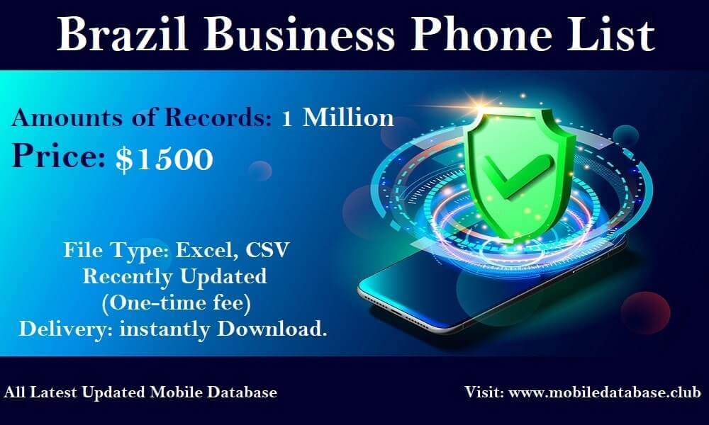 Brazil Business Phone List
