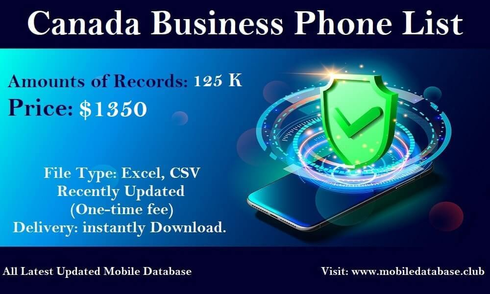 Canada Business Phone List