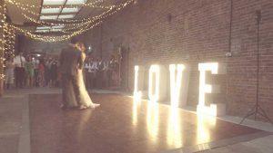 barn weddings near hull DJ