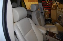 Front view of the Volvo Headrests