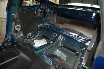 2007 Mustang Interior Stripped