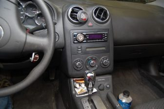 Special Dash Kit Allows Radio Upgrade in Pontiac G6 a
