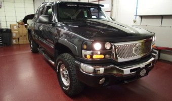 Long Time Palmerton Client Gets Audio Upgrade in GMC Sierra
