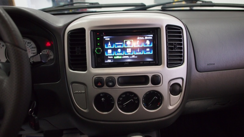 Ford Escape Radio Upgrade Adds 2013 Functionality To 2003 ...