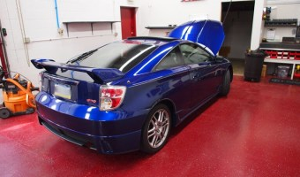 Cherryville Client's 2005 Celica Gets a Complete Audio Upgrade