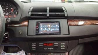 BMW X5 Radio Replacement