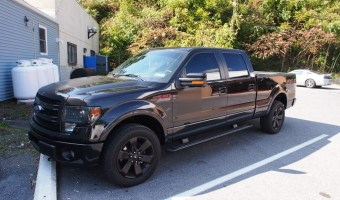 Ford F150 Window Tint Makes Danielsville Client's Truck Perfect!