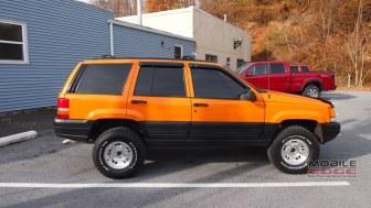 Jeep Grand Cherokee Window Tint