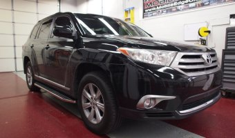 Toyota Accessories and Window Tint For Lehighton Client