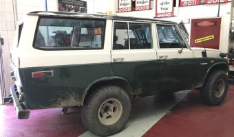 Classic Toyota Land Cruiser Audio System Upgrade For Lehighton Client