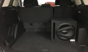 Ford Edge Subwoofer System for Repeat Lehighton Client