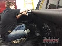 Ford F-150 Sub Upgrade