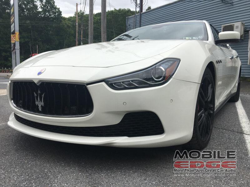 Maserati Ghibli Dashcam