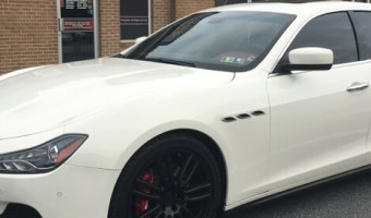 Maserati Ghibli Dashcam Enhances Safety for Bethlehem Client