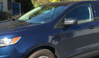 Nesquehoning Client Upgrades Son's 2017 Ford Edge Technology