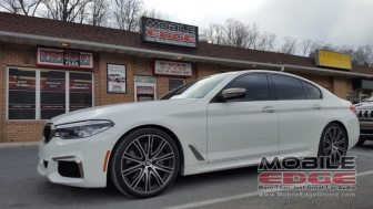 BMW 550i Window Tint