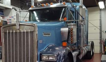 Jim Thorpe Trucker Gets Kenworth W900 Audio System