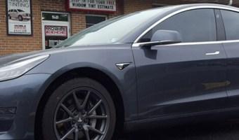 Wilkes Barre Client Adds Tesla Model 3 Window Tint for Improved Comfort