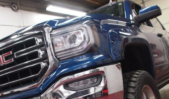 PowerStep Motorized Side Steps for Danielsville Client's GMC Sierra