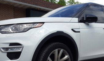 Land Rover Discovery II Tint Match for Repeat Philadelphia Client