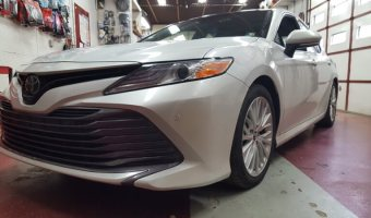 Tamaqua Client Gets 2018 Toyota Camry Remote Start for Winter