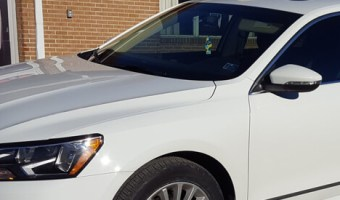 2016 Volkswagen Jetta Gets 3M Crystalline Window Tint