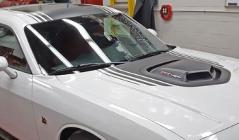 Albrightsville Dodge Challenger Audio System Upgrade