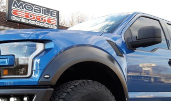 Lehighton Client Adds Driving Lights and Tint to 2019 Ford Raptor