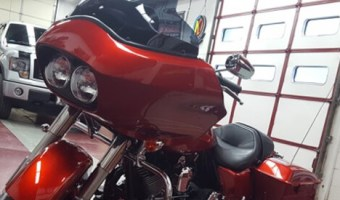 Barnesville Client Gets Hertz Audio Upgrade for 2017 Harley-Davidson