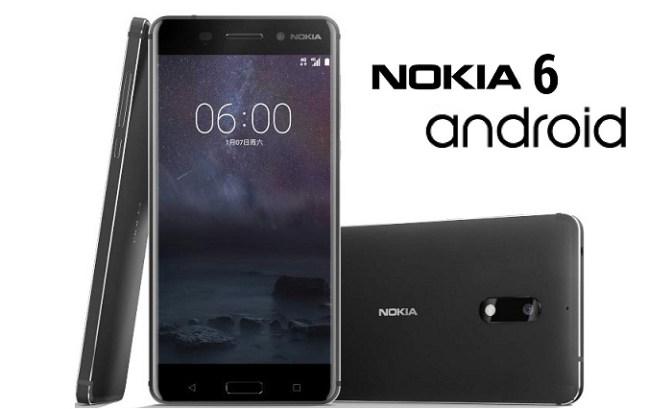 nokia 6 smartphone image