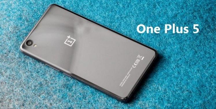 One Plus 5 smartphone