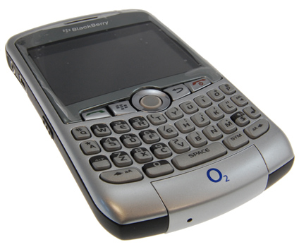 BlackBerry 8300 Curve Rebadged by O2