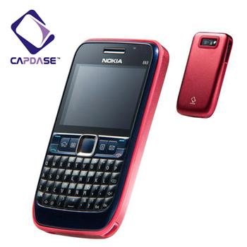 Capdase Alumor Metal Case For The Nokia E63 - Red