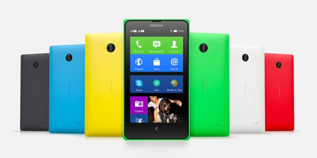 1st android phone nokia x